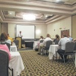 Young Professionals learn about insurance