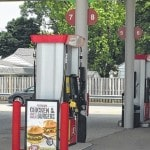 E85 available at Lima station