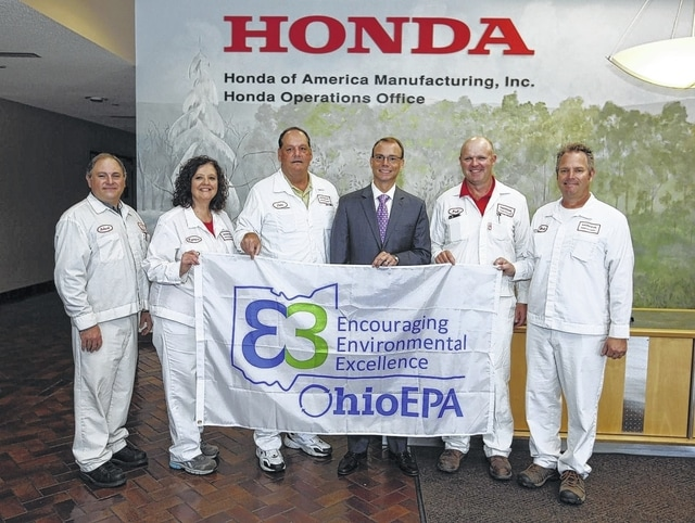 Honda Of America Mfg Inc Green Factory Leaders From LeftRobert