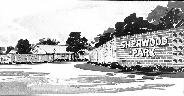 An Artists Rendering Of The Entrance Sherwood Park