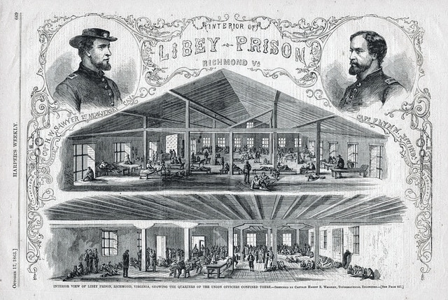Libby Prison was one of the harshest Confederate prisons during the Civil War.