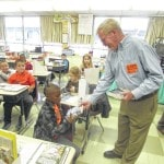 Lima Rotary Club continues tradition of distributing dictionaries to third-graders