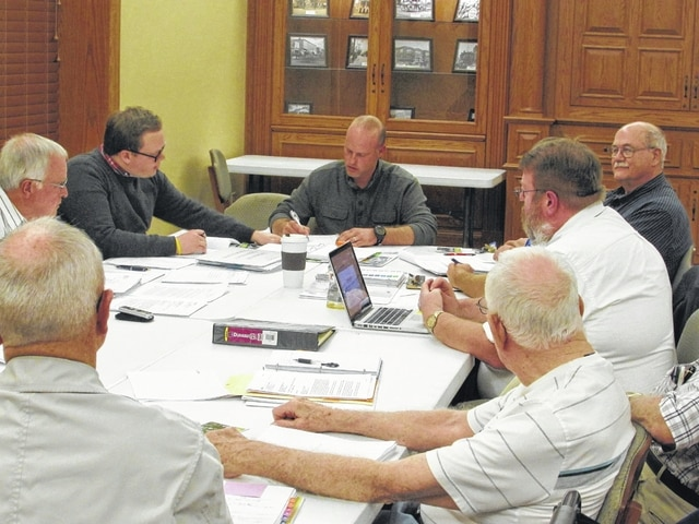 Members of the Shannon Cemetery Commission discussed possibilities for restoration of the cemetery at great length at a meeting Thursday. The group ultimately made little progress but agreed to allow a ground penatrating radar procedure to be done if the money is donated.