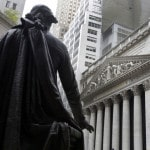 US stocks post slight gains, led by oil and gas companies