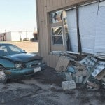 Unlicensed teen driver crashes into dry cleaner building