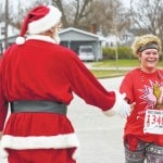 Runners help celebrate holidays