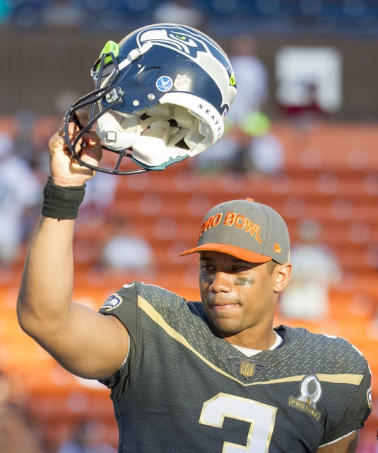 Wilson throws 3 TDs in 49-27 Pro Bowl victory - The Lima News