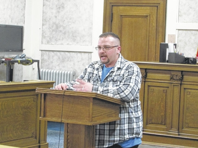 Nathan Getz, of Columbus, discusses his new life after successfully completing the Addiction Treatment Program through the Hardin County court system. Getz said that the program, along with the support of his family, has helped him get back on track.