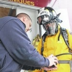 Fire training gives Lima mayor, others, chance to be firefighters for a day