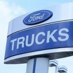 Ford sets record; Wall Street frets