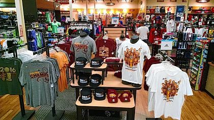 best loved a89ea 0b8d3 Cavs merchandise a hot seller for local stores - The Lima News