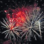 Fireworks booming in our area