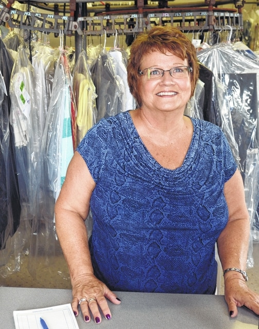 Dianne Benroth is happy to assist you with your dry cleaning needs at Fortman Cleaners in Ottawa.