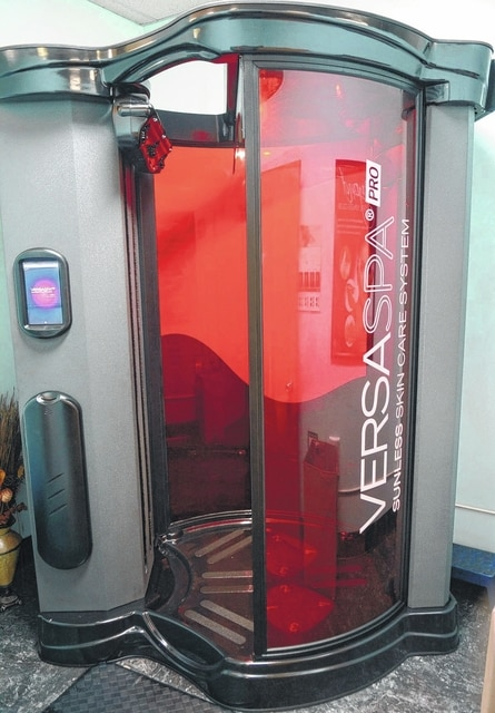 Spray tanning is available at Larry Paul Tanning Spa.