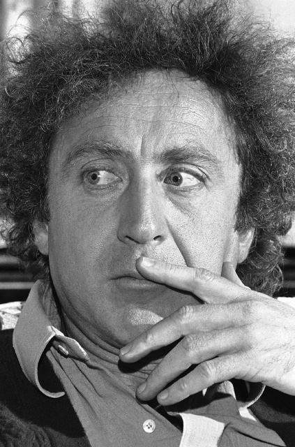 FILE -  In a Dec. 27, 1977 file photo, actor Gene Wilder looks thoughtful during an interview in New York. Wilder's nephew said Monday, Aug. 29,, 2016, that the actor and writer died late Sunday at his home in Stamford, Connecticut, from complications from Alzheimer's disease. He was 83. (AP Photo/Richard Drew, File)