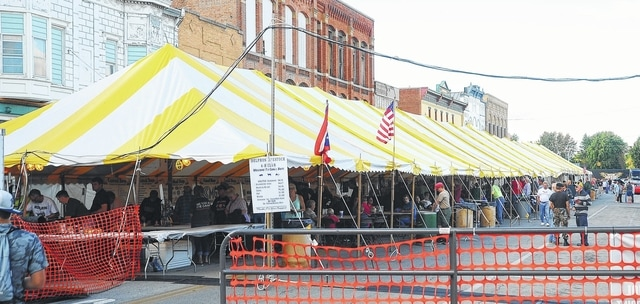 A tent downtown takes center stage at Canal Days in Delphos. & Fun to be had at Delphos Canal Days - The Lima News