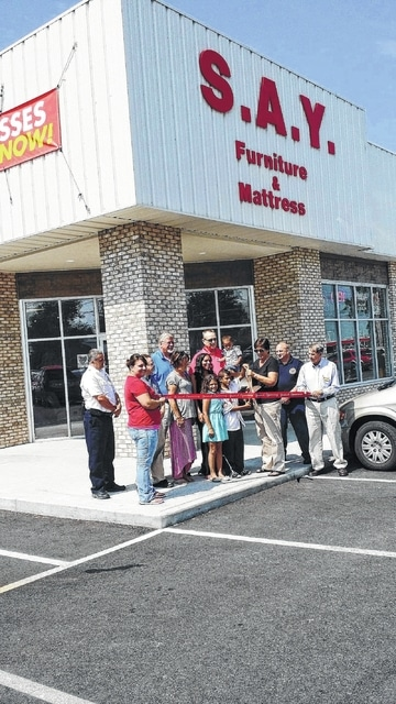 In This File Photo, S.A.Y. Furniture Celebrated The Grand Opening Of Its  Rebuilt Store At 3037 Elida Road, Lima, In August 2014.