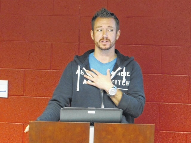Addiction Counselor Speaks In Van Wert The Lima News