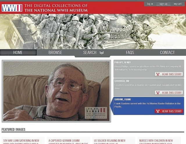 WWII on www: Thousands of oral histories going online - The