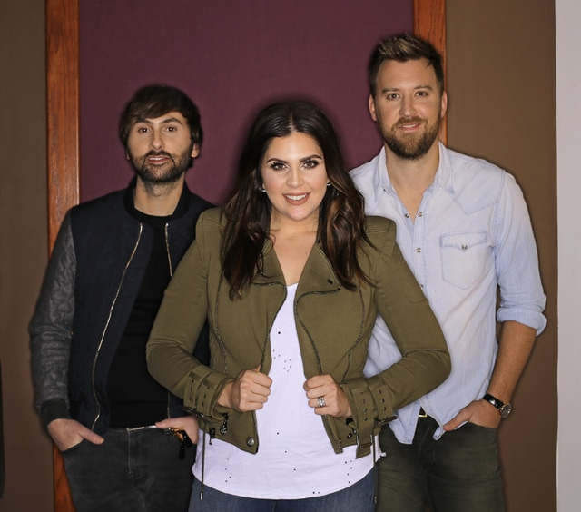 After short hiatus lady antebellum is back with new music the 9 2017 photo the members of lady antebellum from left dave haywood hillary scott and charles kelley pose in nashville tenn the grammy winning vocal m4hsunfo