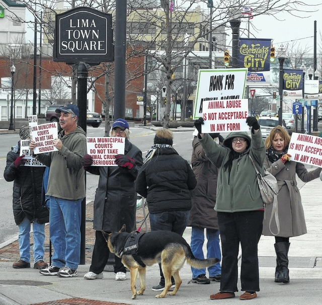 Pet lovers protest sentence for dog cruelty this week - The Lima News