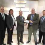 Citizens National Bank donates to Wright State University-Lake Campus