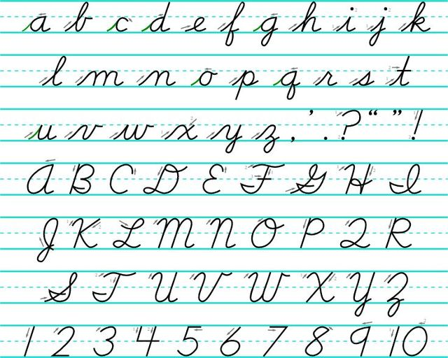 ohio bill would require teaching cursive writing in schools the lima news. Black Bedroom Furniture Sets. Home Design Ideas