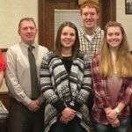 Three Kalida teens honored by Putnam County Optimists