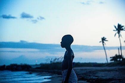 """This image released by A24 Films shows Alex Hibbert in a scene from the film, """"Moonlight."""" The film won an Oscar for best picture on Feb. 26.  (David Bornfriend/A24 via AP)"""