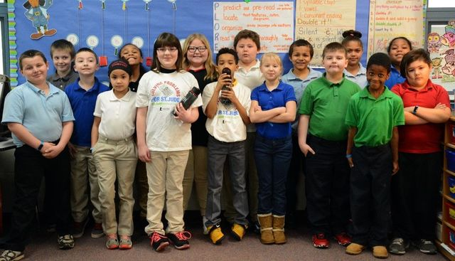Freedom third graders raise $400 for St. Jude Children's Research Hospital