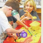 DeVos checks out Van Wert schools