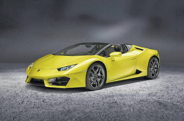 The Lamborghini Huracan Spyder Is A Rear Wheel Drive Street Racer, Powered  By