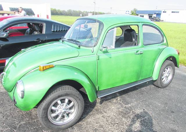 John Meyer completely took this 1974 Volkswagon Bug apart and put it back together after his son-in-law found it sitting among overgrown weeds in a farm field. Lance Mihm photo.