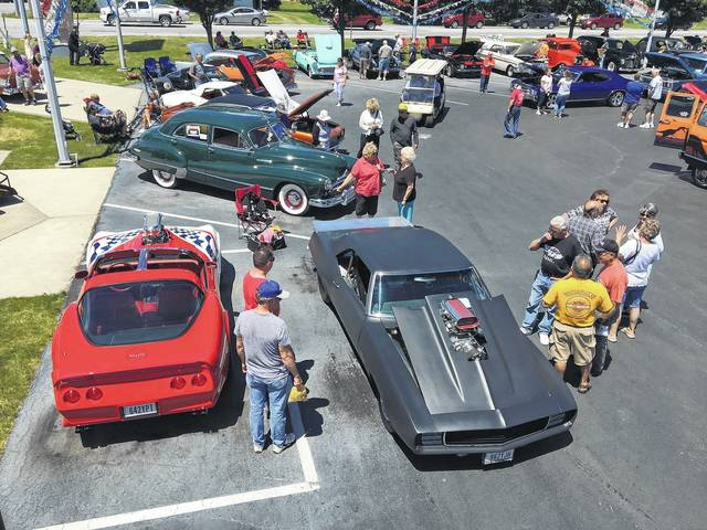 The ninth annual Westgate Charity Car Show drew a large crowd of spectators and car lovers on Sunday to the Lima Chevrolet Cadillac dealership. The event brought in an estimated 300 cars ranging in size, color and age and raised $6,500 for local charities.