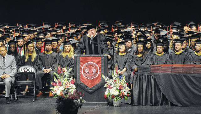 The University of Northwestern Ohio held its 97th Annual Commencement at the Veterans Memorial Civic and Convention Center on Sunday.