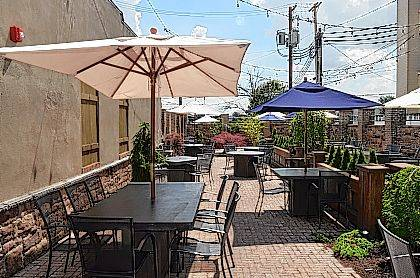 John Bush   The Lima News The Outdoor Patio Area At Hollander On Main Can  Seat 80 People.