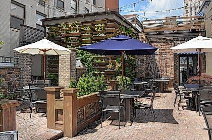 Hollander On Main Opened An Outdoor Patio That Restaurant Officials Said Is  Quite Popular With Patrons.