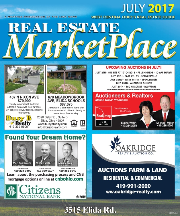 Real Estate Marketplace July 2017
