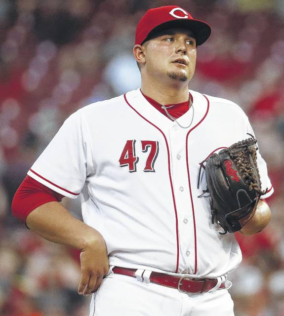 Cincinnati starting pitcher Sal Romano failed to retire a batter in the fifth inning during Tuesday night's home game against Arizona.