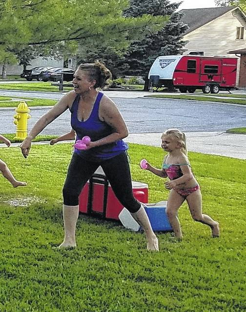 My kind of summer body is the body that plays with the kids.