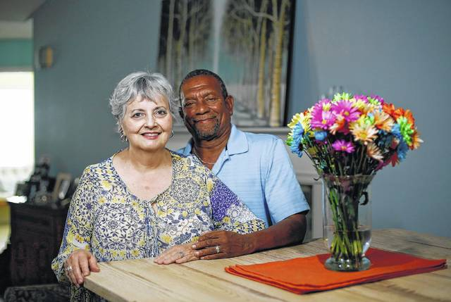 """Myra Clark Foster and Howard Foster stopped dating years ago due to societal pressures and met again many years later and are now married. Decades after racism caused their breakup, the two reconnected at Sharon Woods Metro Park on a fall day in 2013, and they held hands across a picnic table as they talked like they'd never been apart. """"It was that dream you just never thought would come true … there she was,"""" Howard said."""