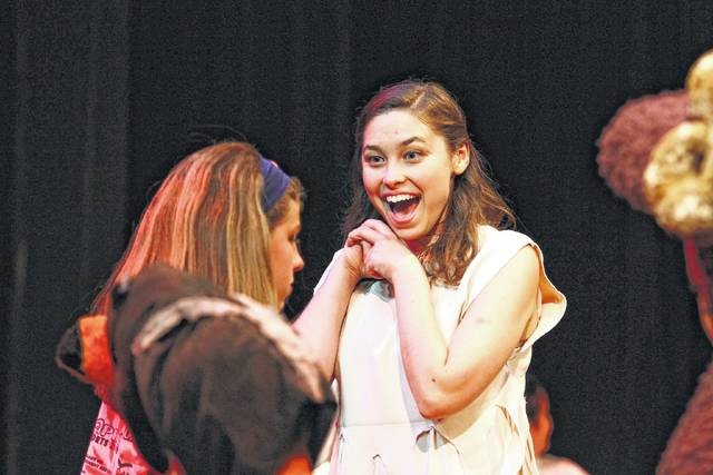 """Alexandra Newby plays Eve in the musical """"Children of Eden"""" at Encore Theatre."""