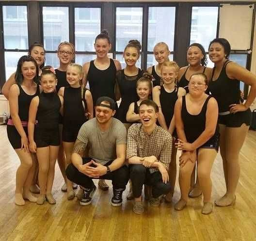 Front L-R: Instructor – Matt DeAngelis, Pianist – Isaic Alter Row 2: Madeline Warner, Brailynn Murphy, Lilly Faye, Callie Wieging and Triniti Frueh Row 3: Jena Blanchong Row 4: Carley Shellenbarger, Emily Wohlgamuth, Madi Wohlgamuth, Claire Parent, Kayla Bishop, Zoey Foster and Katelynn Irby Submitted photo