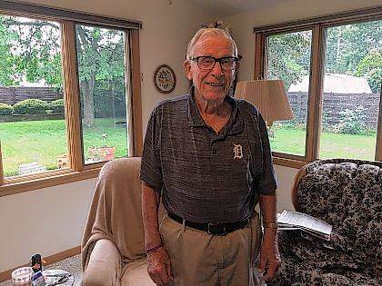 Norm Monfort Of Lima Recently Turned 90 Years Old He Received A Jigsaw
