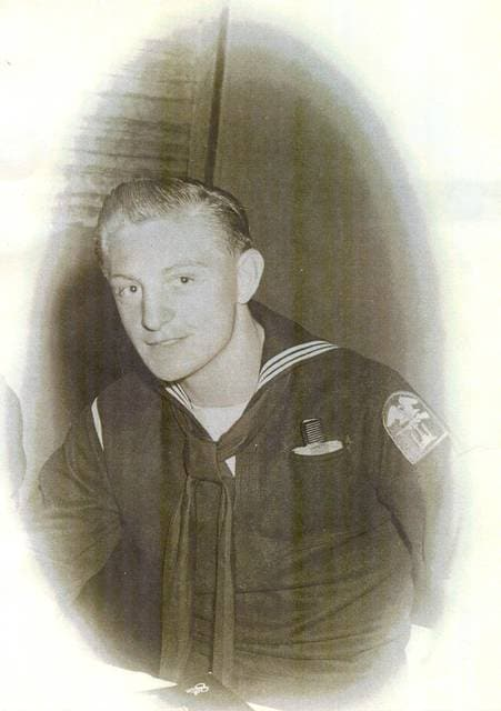Don Miehls entered the Navy when he turned 17 years old.