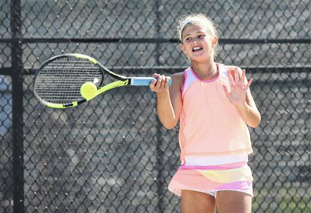 Marina Fuduric, an 11-year-old, took home the Lima Area Tennis Association women's title after defeating Mackenzie Wills 6-2, 6-1 in the finals.