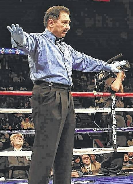 Frank Garza, who grew up in Delphos, is a world-renowned boxing referee and has officiated numerous big fights.