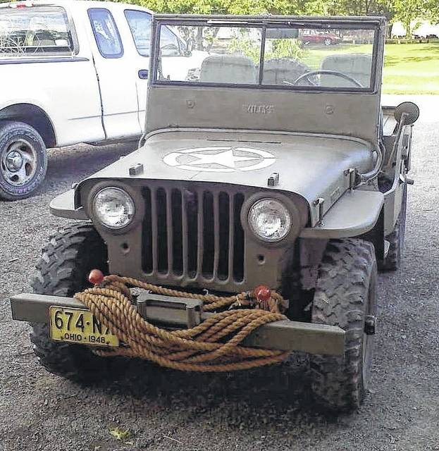 Ken Stocklin, of Rockford, estimates that he put close to $2,000 in parts and paint on this 1948 Jeep.
