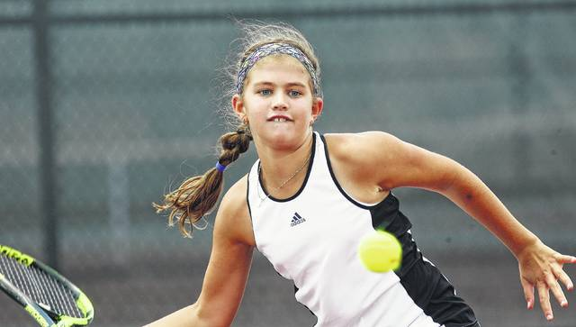 Marina Fuduric, a sixth-grader at St. Charles, is making a return trip to the Lima Area Tennis Association women's singles finals today. Fuduric, who will face MacKenzie Wills, made it to the finals in 2015.