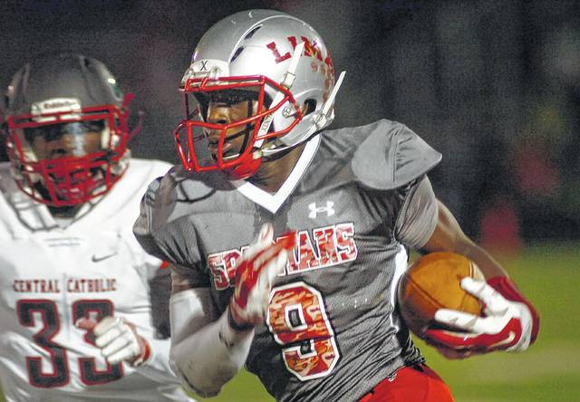 Lima Senior running back Jaden Walker was a major factor in the Spartans posting a 6-4 record. Head coach Andre Griffin must find a replacement for the All-Ohio tailback who graduted.